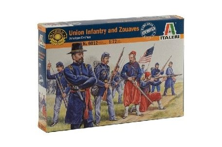 Italeri Union Infantry and Zouaves 1:72