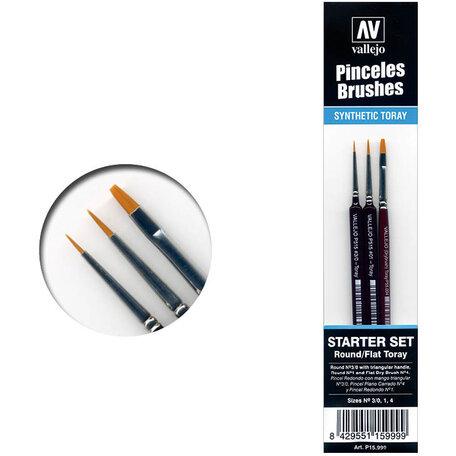 Vallejo Brushes Starter Set