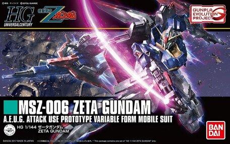 HG 1/144: MSZ-006 Zeta Gundam
