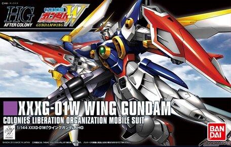 HG 1/144: XXXG-01W Wing Gundam
