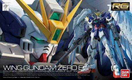 RG 1/144: XXXG-00W0 Wing Gundam Zero Custom EW