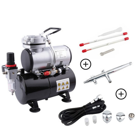 Airbrush Set Advanced