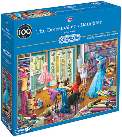 Gibsons The Dressmaker's Daughter (1000)