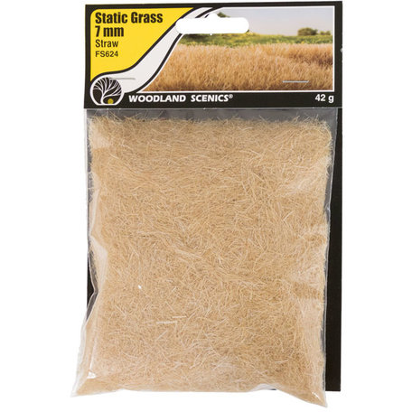 Woodland Static Grass: Straw 7 mm