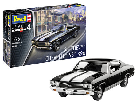 Revell 1968 Chevy Chevelle 1:25