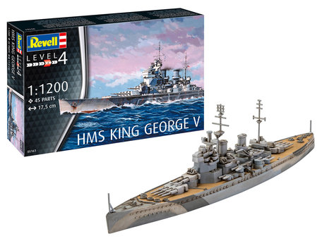 Revell HMS King George V 1:1200