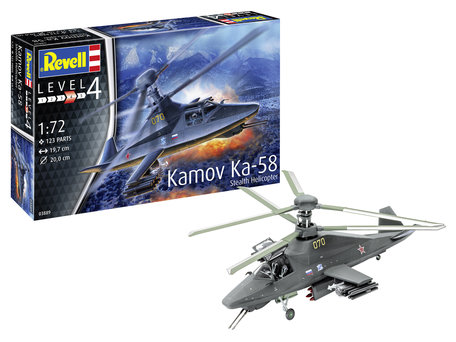 Revell Kamov Ka-58 Stealth 1:72