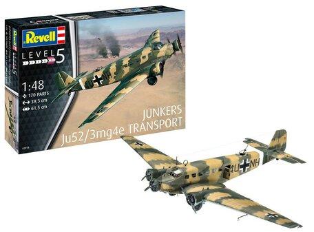 Revell Junkers Ju52/3m Transport 1:48