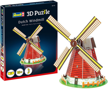 Revell 3D Puzzel Dutch Windmill