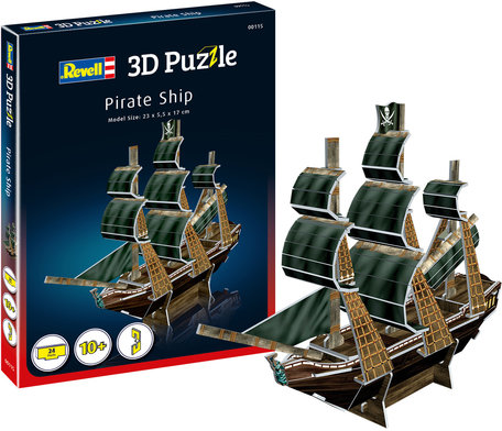 Revell 3D Puzzel Pirate Ship
