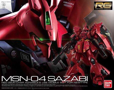 RG 1/144: MSN-04 Sazabi