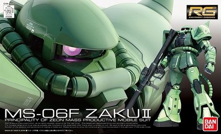 RG 1/144: MS-06F Zaku II