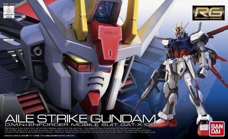 RG 1/144: GAT-X105 Aile Strike Gundam
