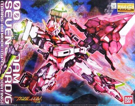 MG 1/100: GN-0000GNHW/7SG 00 Gundam Seven Sword/G