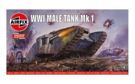 Airfix WWI Male Tank 1:76