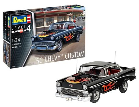Revell 1956 Chevy Custom 1:24