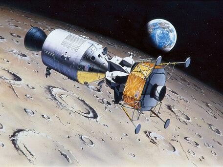 Revell Apollo 11 Columbia & Eagle 1:96