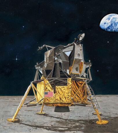Revell Apollo 11 Lunar Module Eagle 1:48