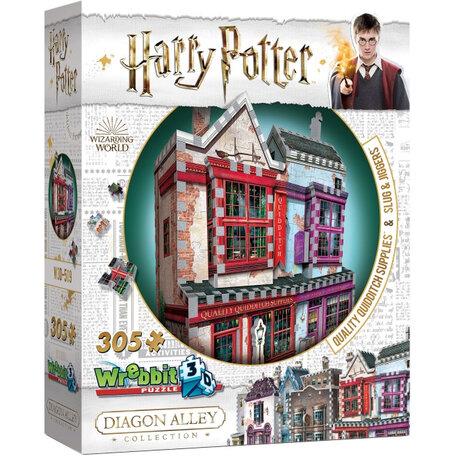 Wrebbit Harry Potter Quality Quidditch Supplies & Slug Jiggers Apothecary