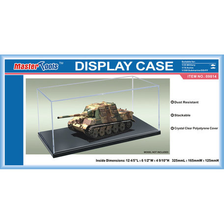 Display Case: 32,5 x 16,5 x 12,5 cm