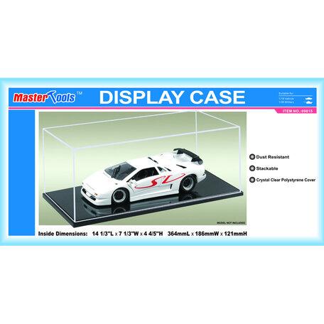 Display Case: 36,4 x 18,6 x 12,1 cm