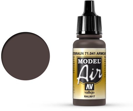 041. Vallejo Model Air: Armour Brown (71.041)