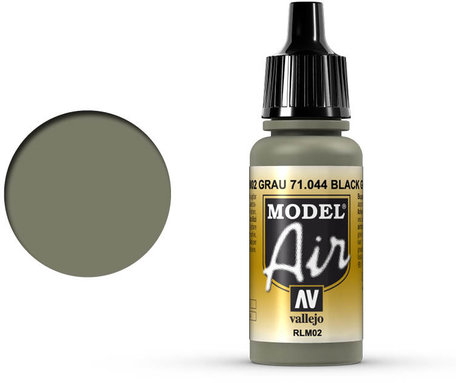 044. Vallejo Model Air: Grey RLM02 (71.044)