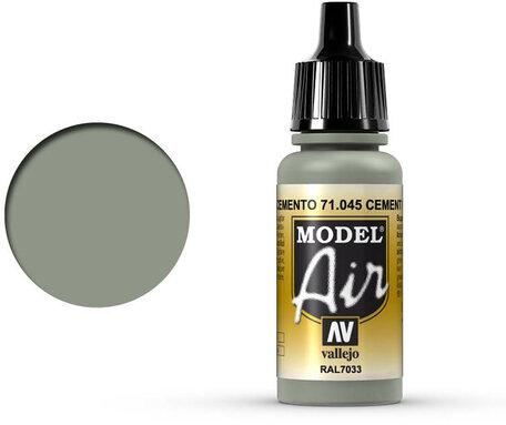 045. Vallejo Model Air: Cement Grey (71.045)