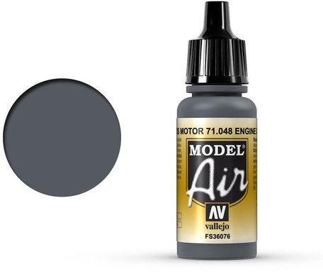 048. Vallejo Model Air: Engine Grey (71.048)