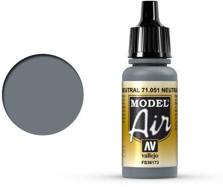 051. Vallejo Model Air: Neutral Gray (71.051)