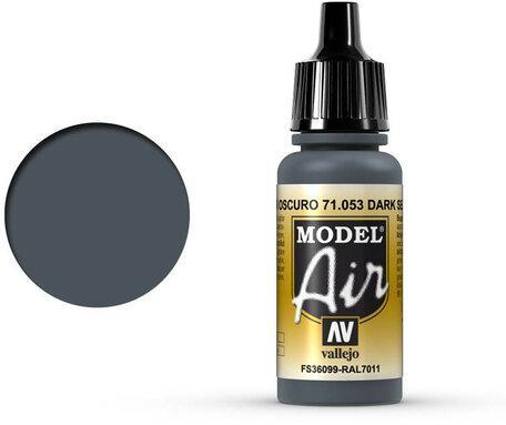 053. Vallejo Model Air: Dark Sea Gray (71.053)