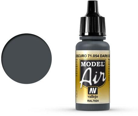 054. Vallejo Model Air: Dark Grey Blue (71.054)