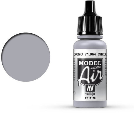 064. Vallejo Model Air: Chrome (71.064)