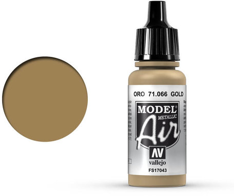 066. Vallejo Model Air: Gold (71.066)