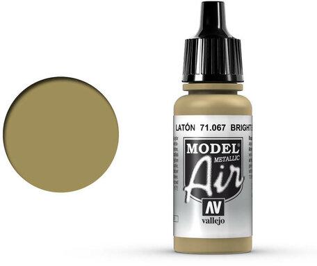 067. Vallejo Model Air: Bright Brass (71.067)