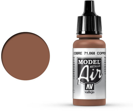 068. Vallejo Model Air: Copper (71.068)