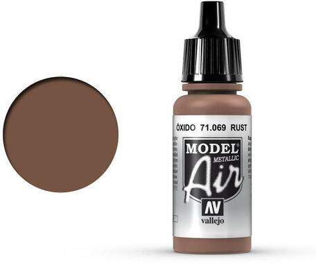 069. Vallejo Model Air: Rust (71.069)