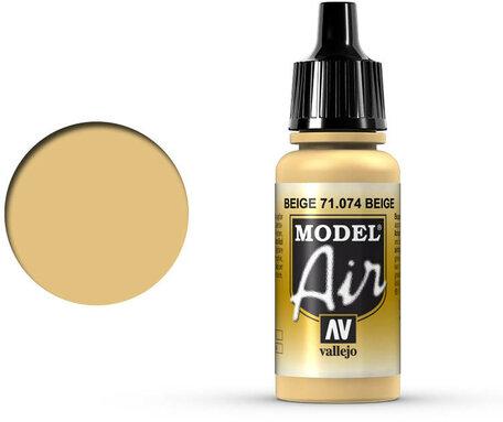 074. Vallejo Model Air: Beige (71.074)