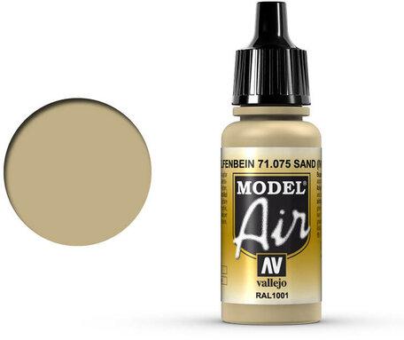 075. Vallejo Model Air: Ivory (71.075)
