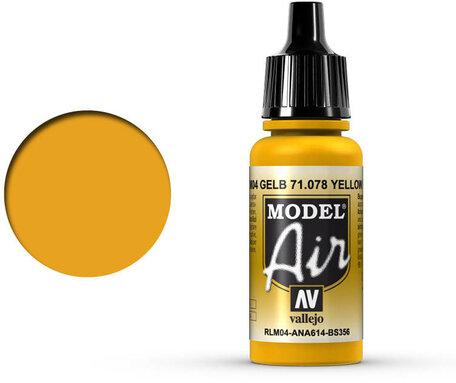 078. Vallejo Model Air: Yellow RLM04 (71.078)