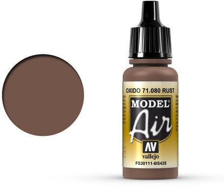 080. Vallejo Model Air: Rust (71.080)