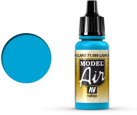 089. Vallejo Model Air: Light Sea Blue (71.089)