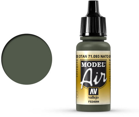 093. Vallejo Model Air: NATO Green (71.093)