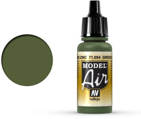094. Vallejo Model Air: Green Zinc Chromate (71.094)