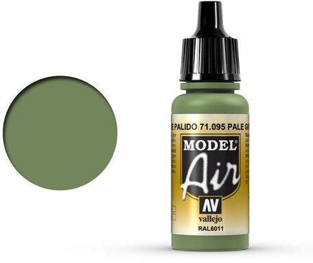 095. Vallejo Model Air: Pale Green (71.095)