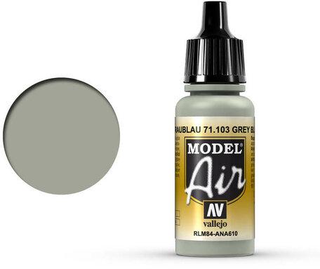 103. Vallejo Model Air: Grey Blue RLM84 (71.103)