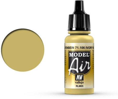 106. Vallejo Model Air: Ivory RLM05 (71.106)