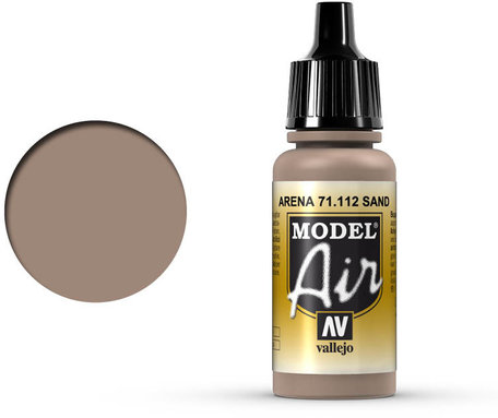 112. Vallejo Model Air: Sand (71.112)
