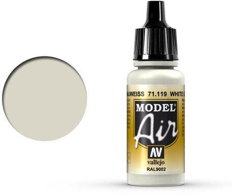 119. Vallejo Model Air: White Grey (71.119)