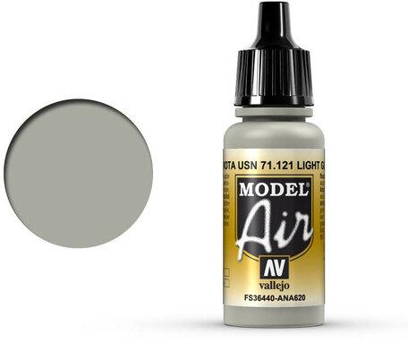 121. Vallejo Model Air: Light Gull Gray (71.121)